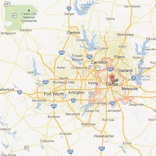 Dfw Metroplex Map Dallas/Fort Worth Map | Tour Texas