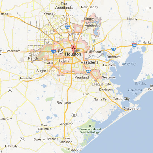 Map Houston Tx Houston Map | Tour Texas