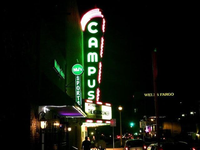 See a show at the Campus Theatre in Denton, a historic venue that hosts plays and film festivals.