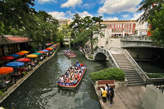 Going on a River Walk cruise is one of the more popular things to do in San Antonio.