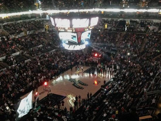 If you're a basketball fan, you can't visit San Antonio without going to a Spurs game.