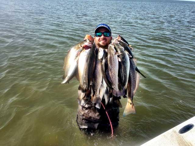 Baytown Nature Center Fishing