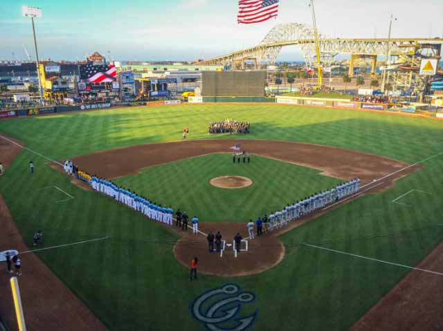 Get Your Peanuts And Cracker Jacks And Watch Up And Coming Baseball Talent  At The State Of The Art Whataburger Field, Home Of The Corpus Christi Hooks.