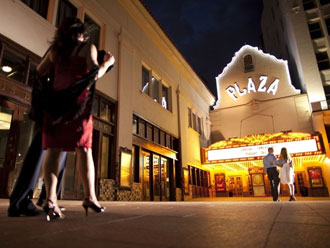 The Plaza Theatre in El Paso offers Broadway musicals and other shows year-round.