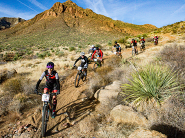Mountain biking in El Paso is a great way to experience the desert.