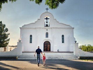 Explore the El Paso Mission Trail to see historic Spanish Colonial-style missions.