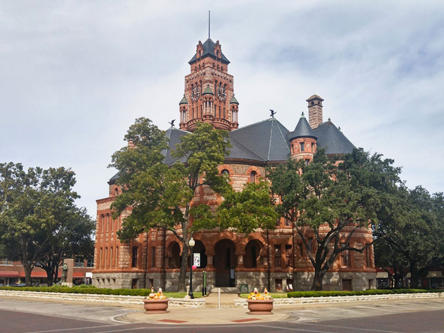 The Ellis County Courthouse in Waxahachie is one of the most photographed buildings in Texas.