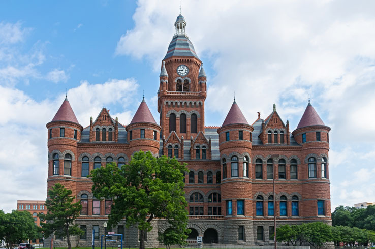 Few structures are as remarkable as the Dallas County Courthouse, now known as the Old Red Museum.