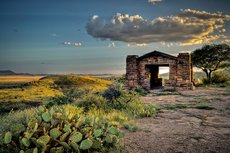 Located in the high mountains of West Texas, Davis Mountains State Park offers natural beauty and a wealth of hiking and biking trails.
