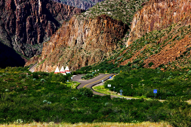 Winding highways and stunning views makes scenic driving in Big Bend a must.