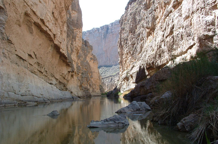 Santa Elena Canyon in Big Bend is a true sight to behold and one you shouldn't miss during your visit.
