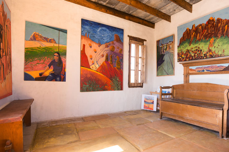 Art galleries in Big Bend can be found from Terlingua to Alpine and Marathon.
