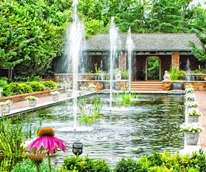 Clark Gardens Botanical Park in Weatherford