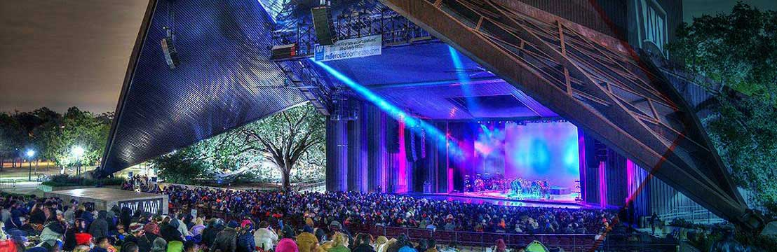 Image result for Miller Outdoor Theatre In Houston