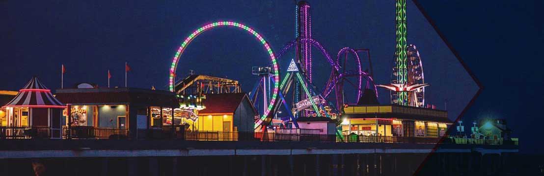 galveston island historic pleasure pier tour texas