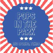 Pops in the Park - JULY