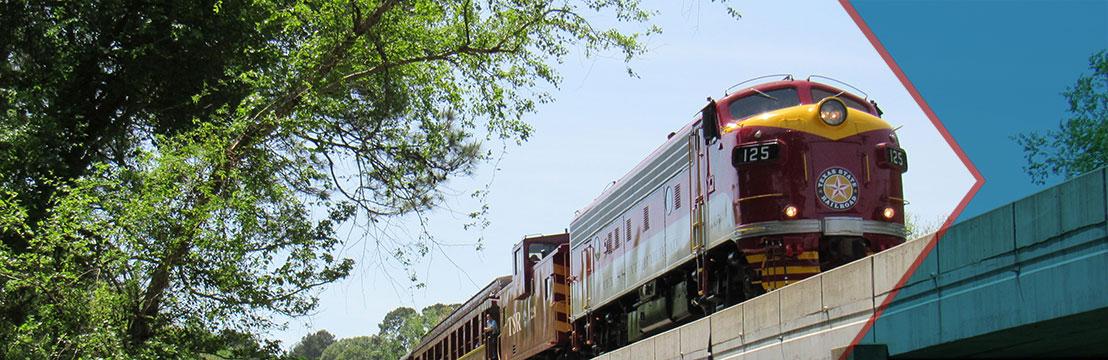 Texas State Railroad in Palestine   Tour Texas