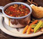 Barbecued Beef and Bean Soup