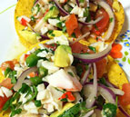 Crab and Shrimp Ceviche