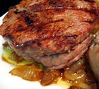 Grilled Stuffed Filet Mignon
